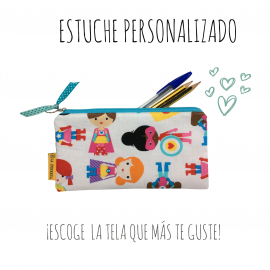 Estuche Escolar Simple Personalizado
