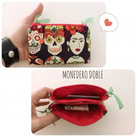 Monedero Doble Personalizado