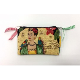 "Monedero Doble ""Frida's Garden"""