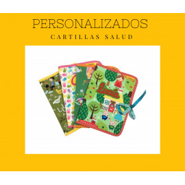 Funda cartilla personalizada