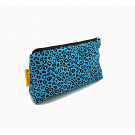 Neceser Leopardo Azul