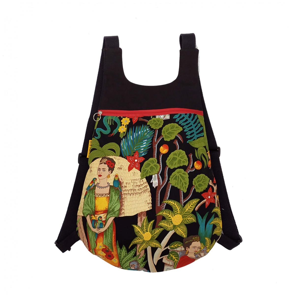 "Mochila Ou ""Frida's Garden"""