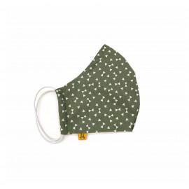 Mascarilla Geométrica Verde