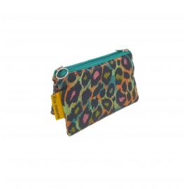 Monedero Leopardo Colores