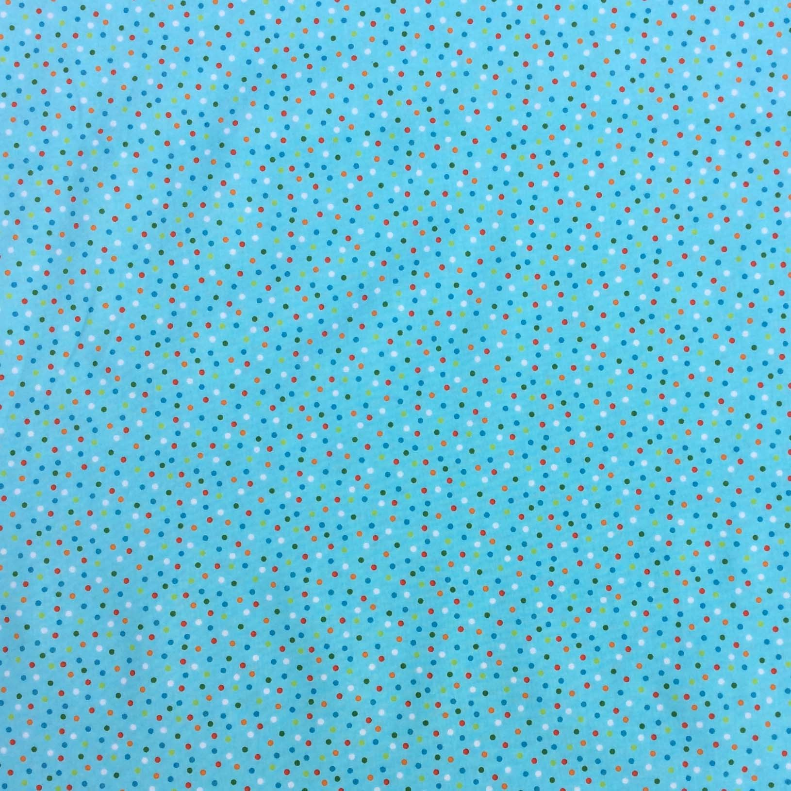 Mini Dots Blue