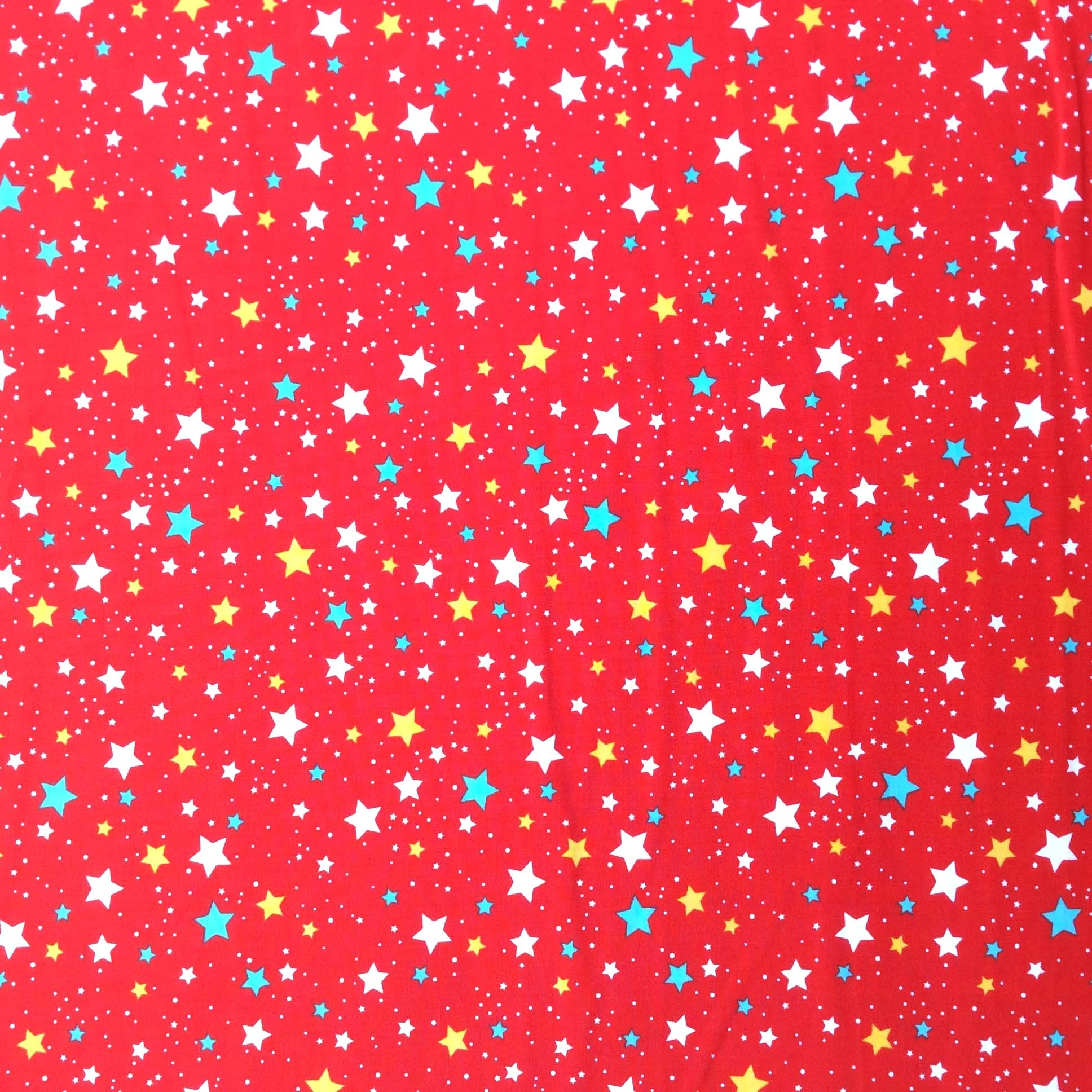 Space Stars Red